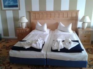 Zimmer im Seehotel Dreiklang