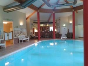 Pool im Seehotel Dreiklang