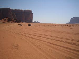 Jeep-Tour im Wadi Rum