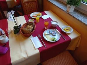 Köstliches Frühstück im laVital Sport- und Wellness-Hotel