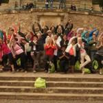 Yoga-Wandern auf dem Rheinsteig