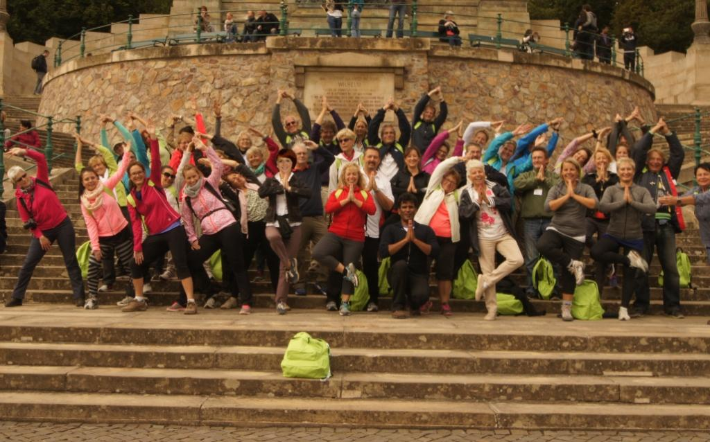 Gruppenbild Yoga-Wandern