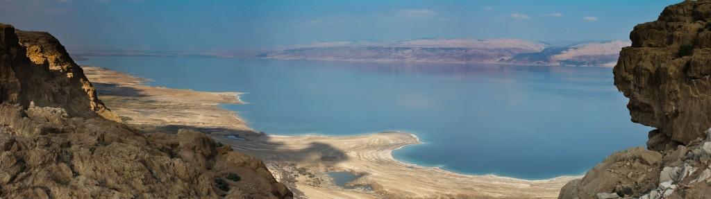 Panoramabild - Jordanien - Totes Meer