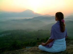 Entspannung bei der Meditation