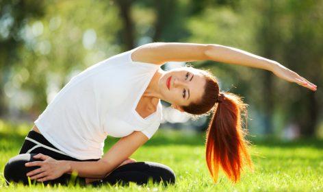 Dehnen im Yoga
