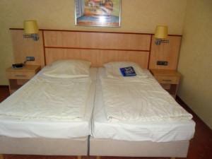 Die Betten im Strandhotel am Weissenhäuser Strand
