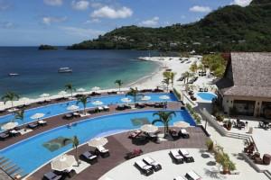 Luxus pur im Buccament Bay Resort in der Karibik