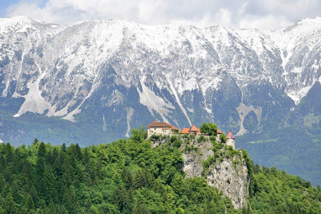 Burg Bled Slowenien