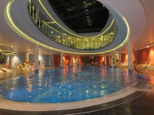 Pool im centrovital Hotel