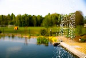 Schwimmteich vom laVital Sport- & Wellness-Hotel