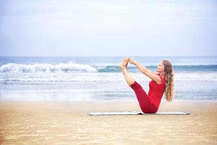 Das Boot lernen im Yoga