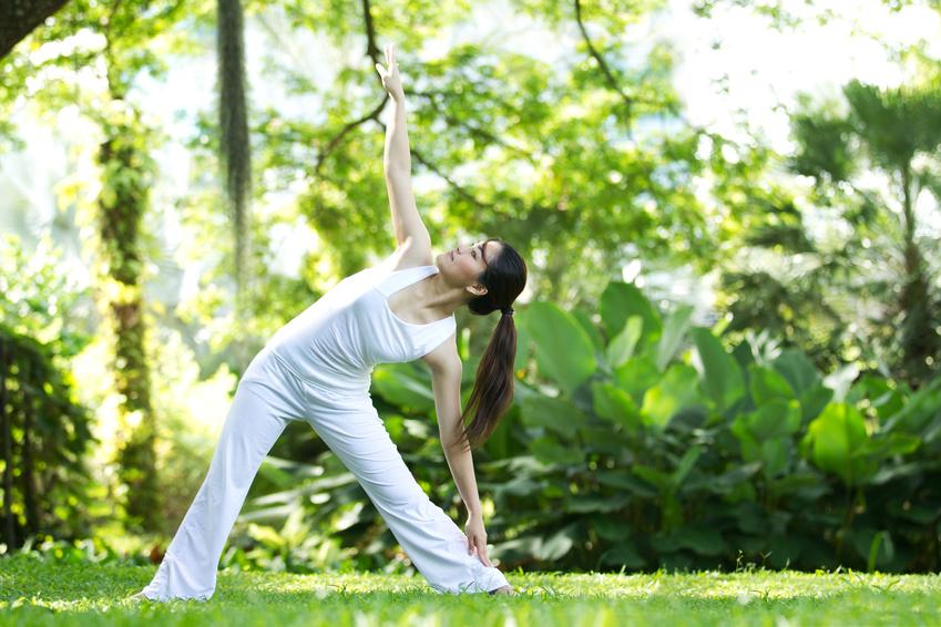 Das Dreieck im Yoga