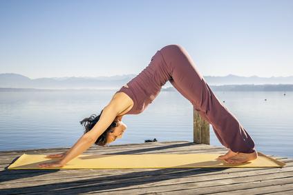Mit Yoga gegen Rückenprobleme