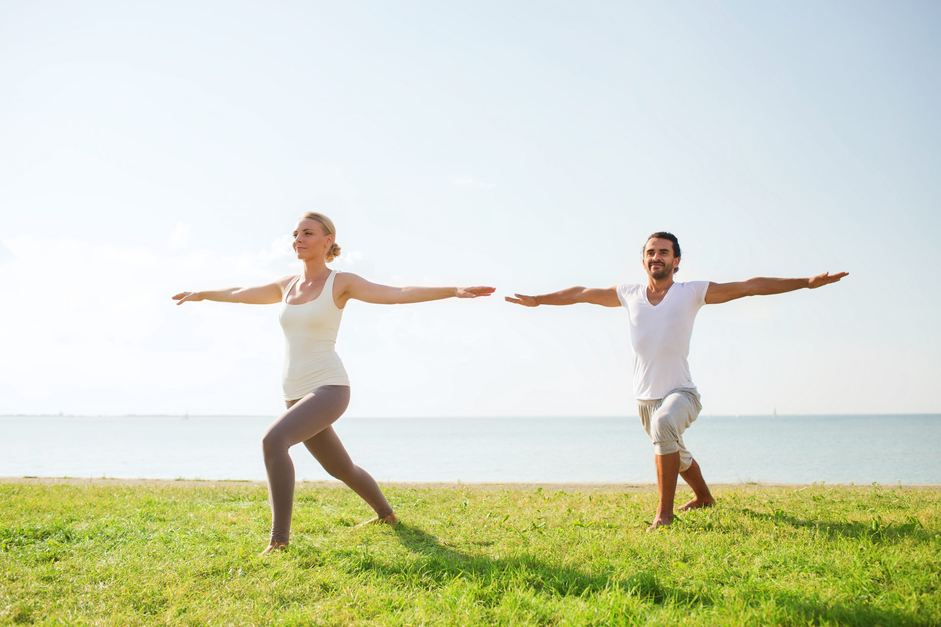 Der krieger Yoga