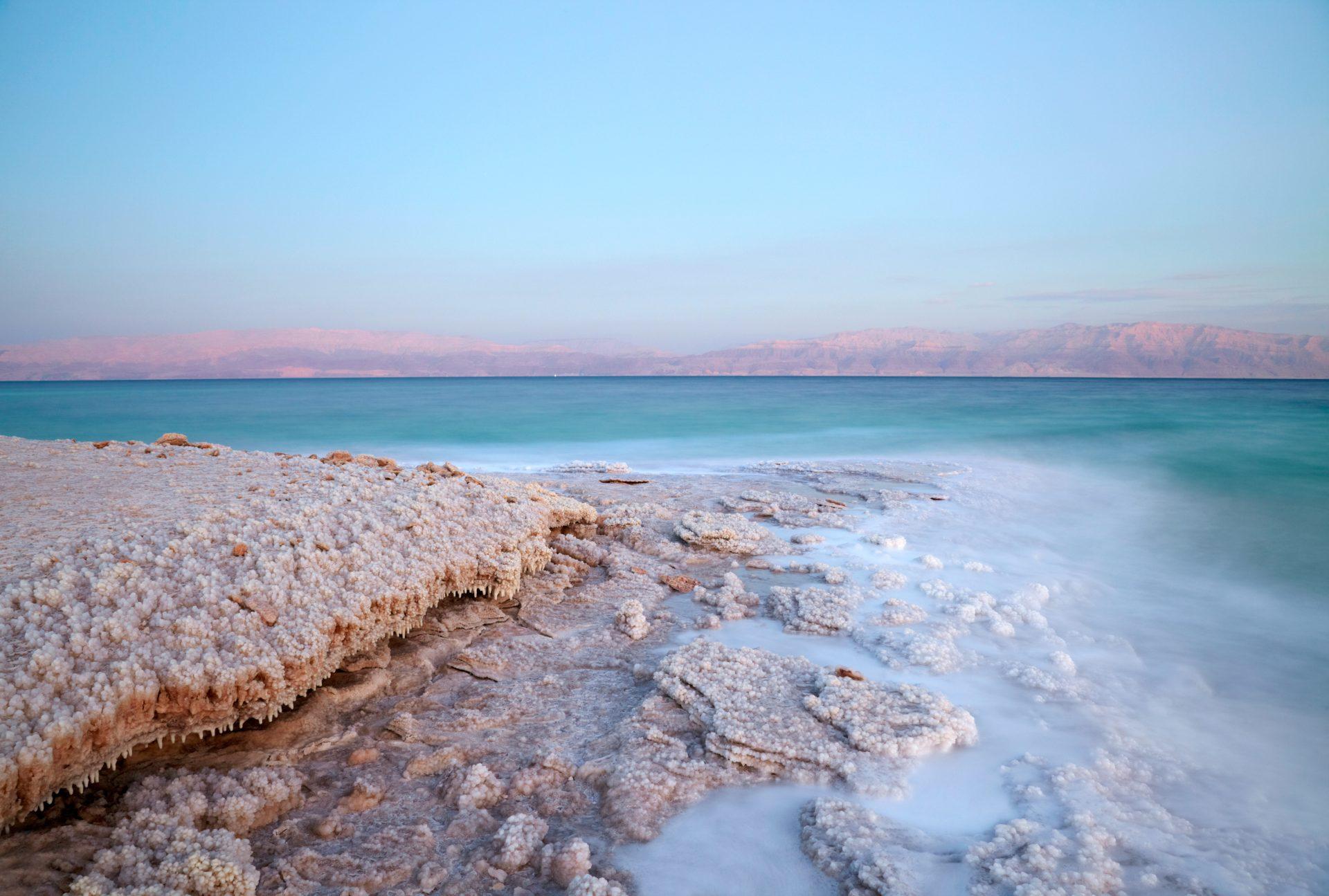Küste am Toten Meer