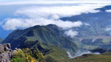 Traumhafter Ausblick auf Madeira