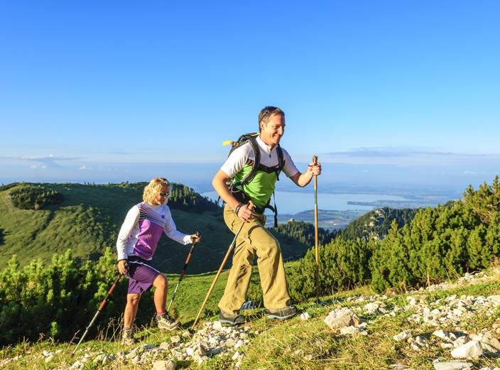 Wandern in den bayrischen Bergen