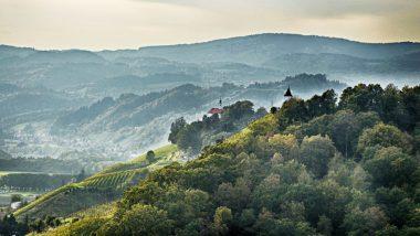 Landschaft in Slowenien