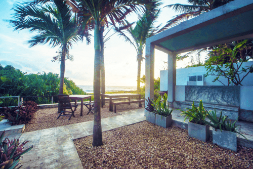 Das Amba Ayurveda Boutique Hotel hat ein charmantes Ambiente.