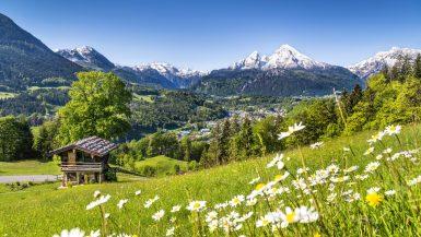 Auch Deutschland hat zauberhafte Natur.