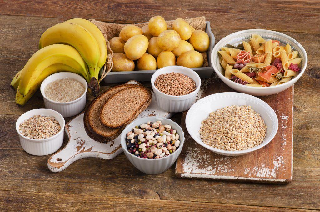Kohlenhydratreiche Lebensmittel