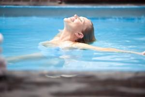 Relaxen im Thermalwasser