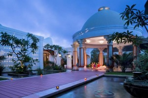 Der Yoga Pavillon vom Vivanta by Taj - Bekal